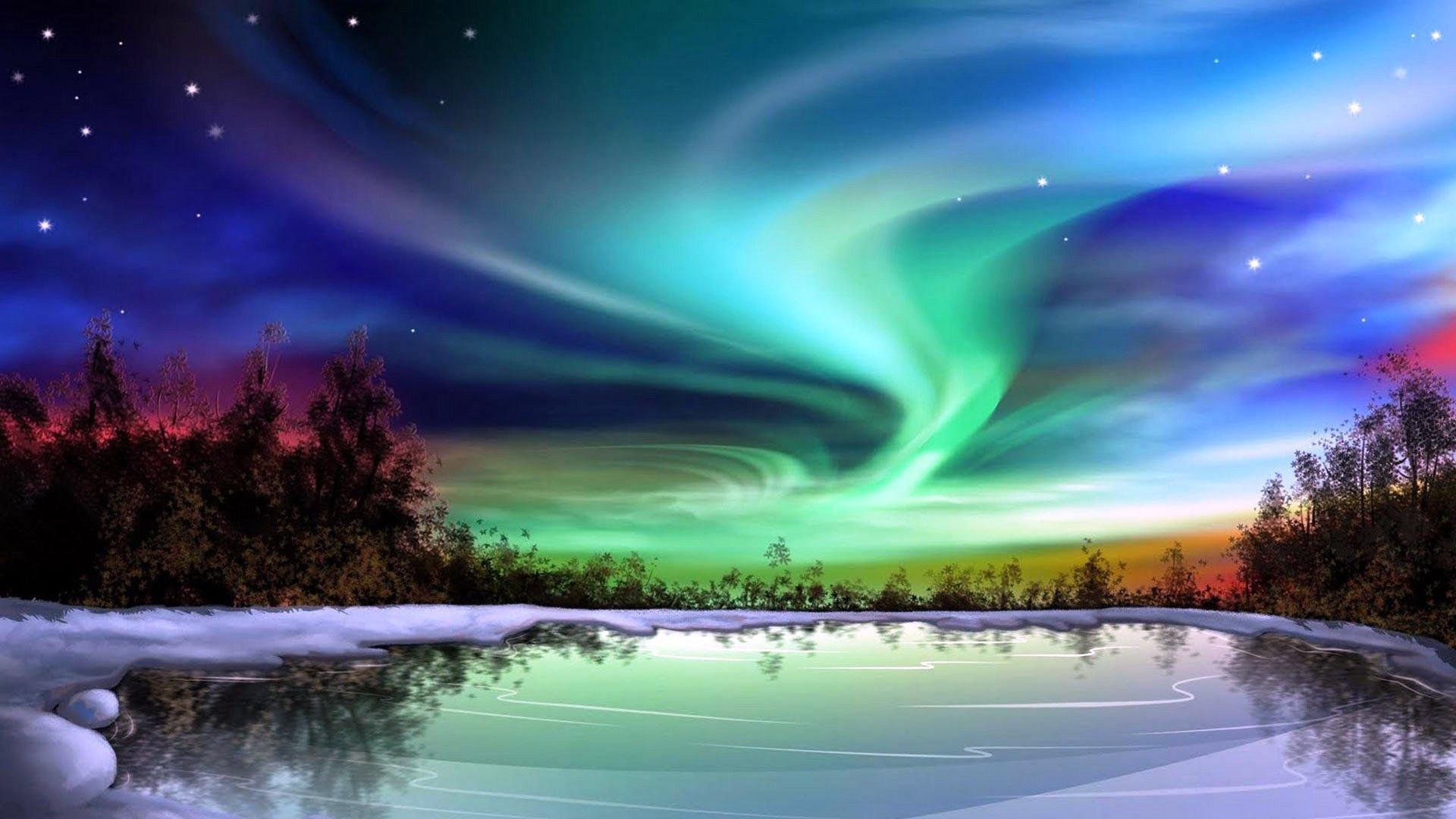 aurora borealis nature - photo #22
